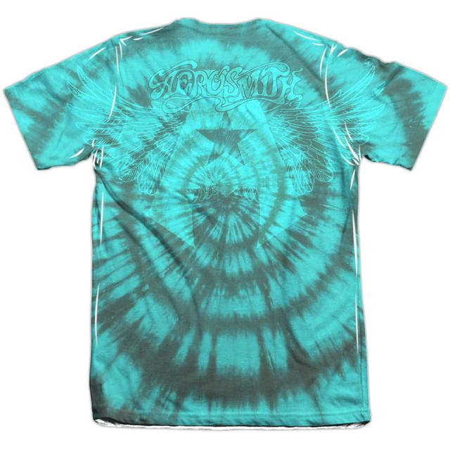 Aerosmith Shirt | TIE DYE (FRONT/BACK PRINT) Tee