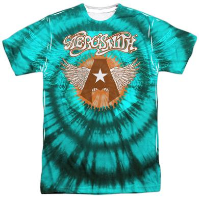 Aerosmith Shirt | TIE DYE (FRONT/BACK PRINT) Tee