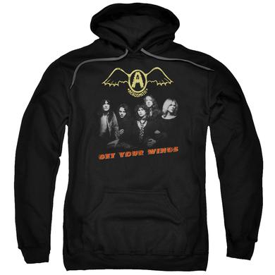 Aerosmith Hoodie | GET YOUR WINGS Pull-Over Sweatshirt
