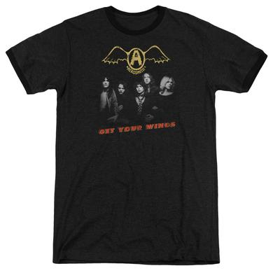 Aerosmith Shirt | GET YOUR WINGS Premium Ringer Tee