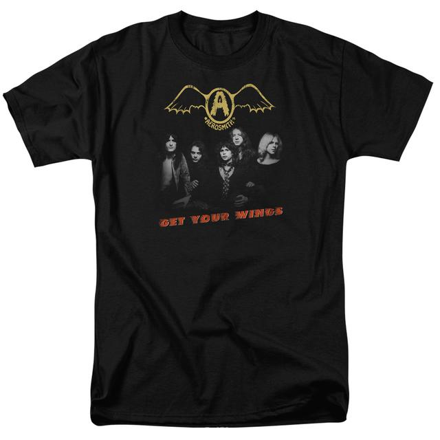 Aerosmith Shirt | GET YOUR WINGS T Shirt