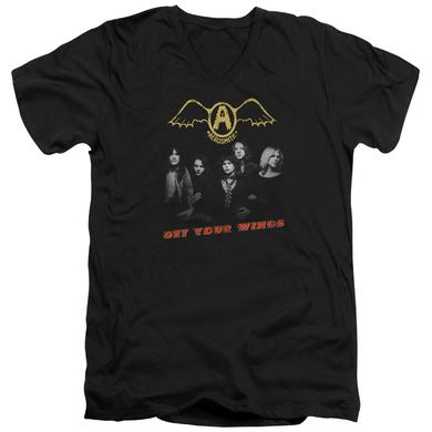 Aerosmith T Shirt (Slim Fit) | GET YOUR WINGS Slim-fit Tee