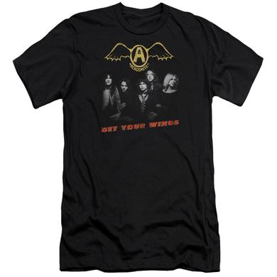 Aerosmith Slim-Fit Shirt | GET YOUR WINGS Slim-Fit Tee