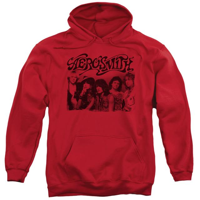 Aerosmith Hoodie | OLD PHOTO Pull-Over Sweatshirt