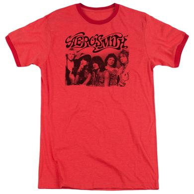 Aerosmith Shirt | OLD PHOTO Premium Ringer Tee