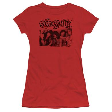 Aerosmith Juniors Shirt | OLD PHOTO Juniors T Shirt