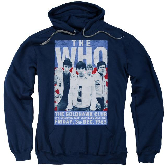 The Who Hoodie | GOLDHAWK POSTER Pull-Over Sweatshirt