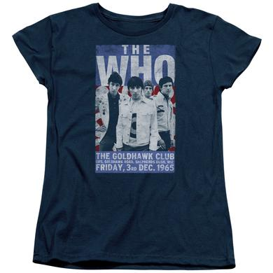 The Who Women's Shirt | GOLDHAWK POSTER Ladies Tee