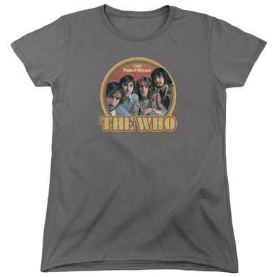 The Who Women's Shirt | 1969 PINBALL WIZARD Ladies Tee