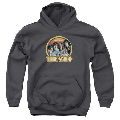 The Who Youth Hoodie   1969 PINBALL WIZARD Pull-Over Sweatshirt
