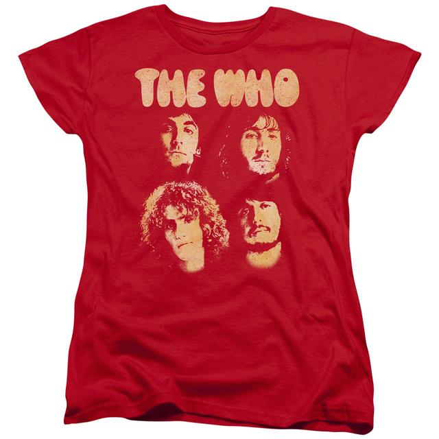 The Who Women's Shirt | WHO BOYS Ladies Tee