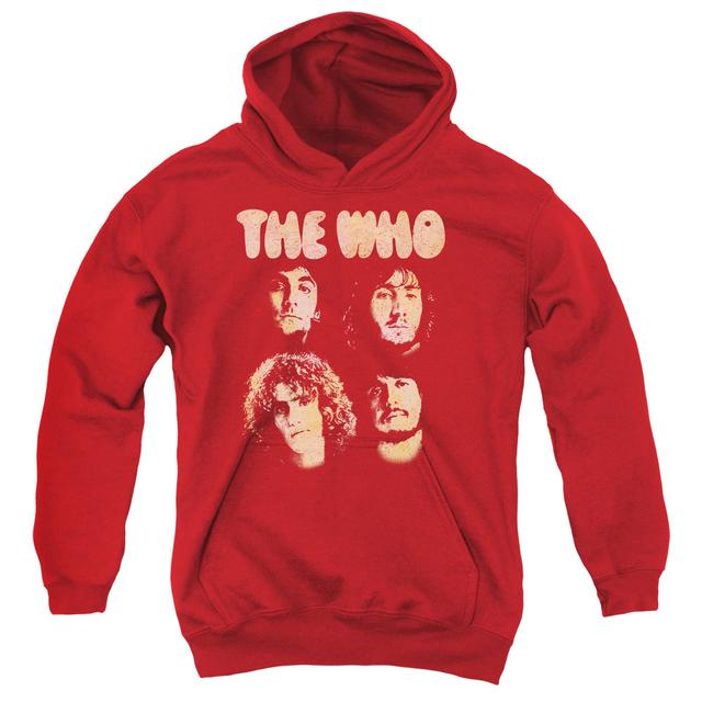 The Who Youth Hoodie | WHO BOYS Pull-Over Sweatshirt