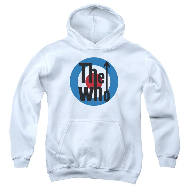 The Who Youth Hoodie | LOGO Pull-Over Sweatshirt