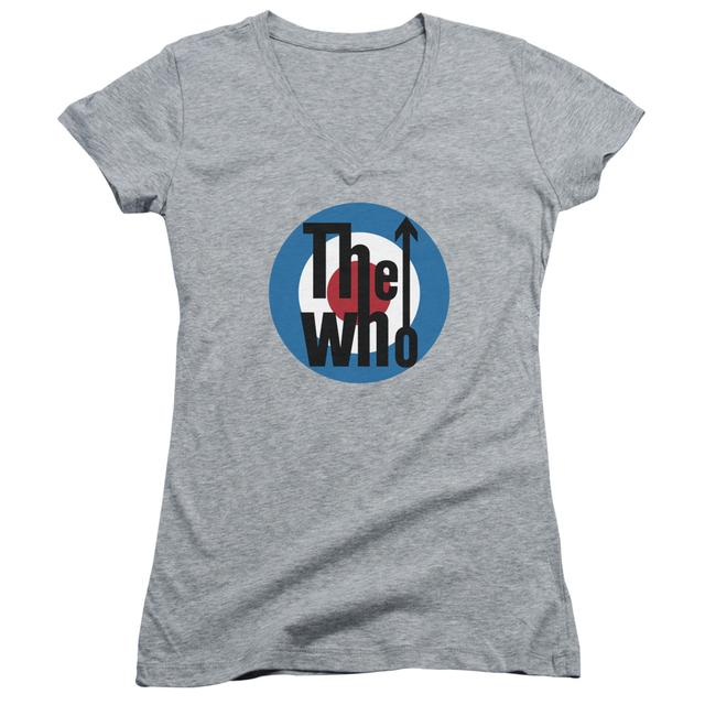 The Who Junior's V-Neck Shirt | LOGO Junior's Tee