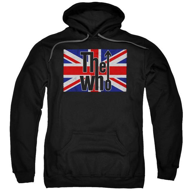 The Who Hoodie | FLAG LOGO Pull-Over Sweatshirt