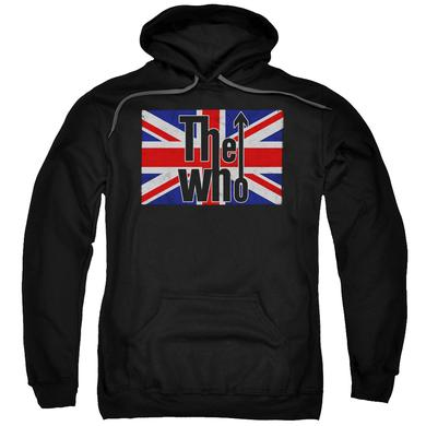 The Who Hoodie | FLAG LOGO Pull-Over Sweatshirt