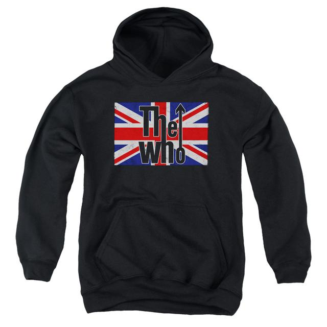 The Who Youth Hoodie | FLAG LOGO Pull-Over Sweatshirt