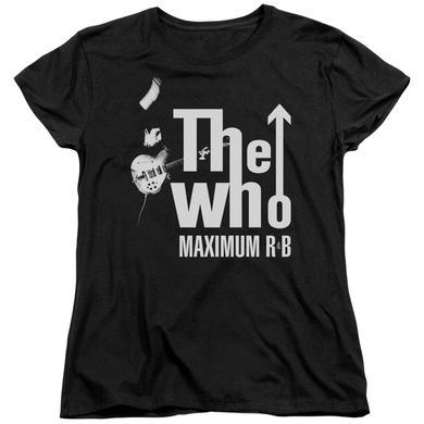 The Who Women's Shirt | MAXIMUM R&B Ladies Tee