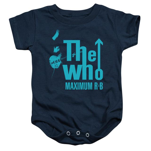 The Who Baby Onesie | MAXIMUM R&B Infant Snapsuit