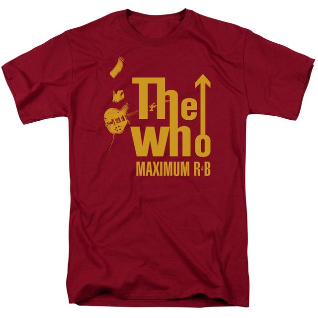 The Who Shirt | MAXIMUM R&B T Shirt