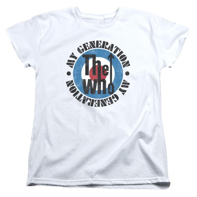 The Who Women's Shirt | MY GENERATION Ladies Tee