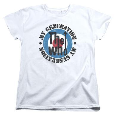 The Who Women's Shirt | MY GENERATION Ladies Tee