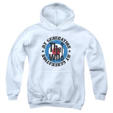 The Who Youth Hoodie | MY GENERATION Pull-Over Sweatshirt