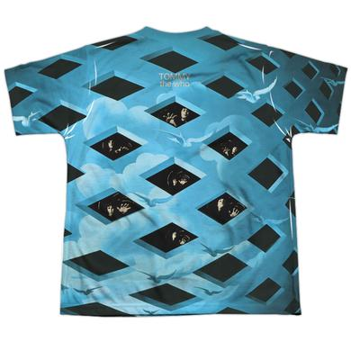 The Who Youth Shirt | TOMMY FULL ALBUM COVER (FRONT/BACK PRINT) Sublimated Tee