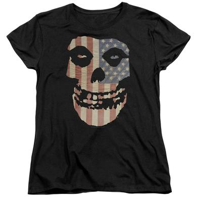 The Misfits Women's Shirt | FIEND FLAG Ladies Tee