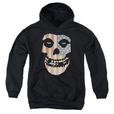 The Misfits Youth Hoodie | FIEND FLAG Pull-Over Sweatshirt