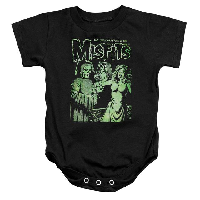The Misfits Baby Onesie | THE RETURN Infant Snapsuit
