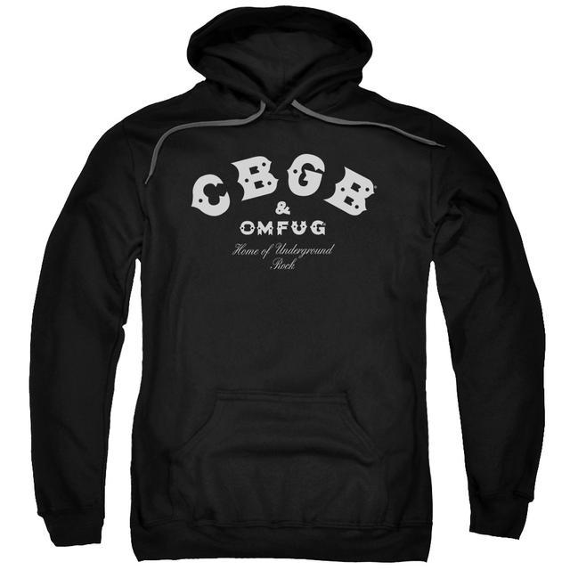 CBGB Hoodie | CLASSIC LOGO Pull-Over Sweatshirt