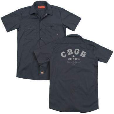 CBGB TATTERED LOGO(BACK PRINT)