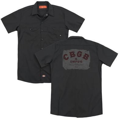 CBGB CRUMBLED LOGO(BACK PRINT)