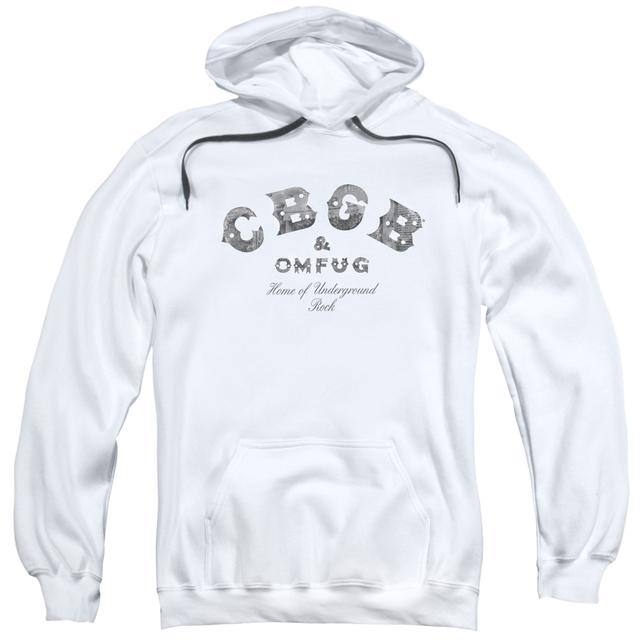 CBGB Hoodie | CLUB LOGO Pull-Over Sweatshirt