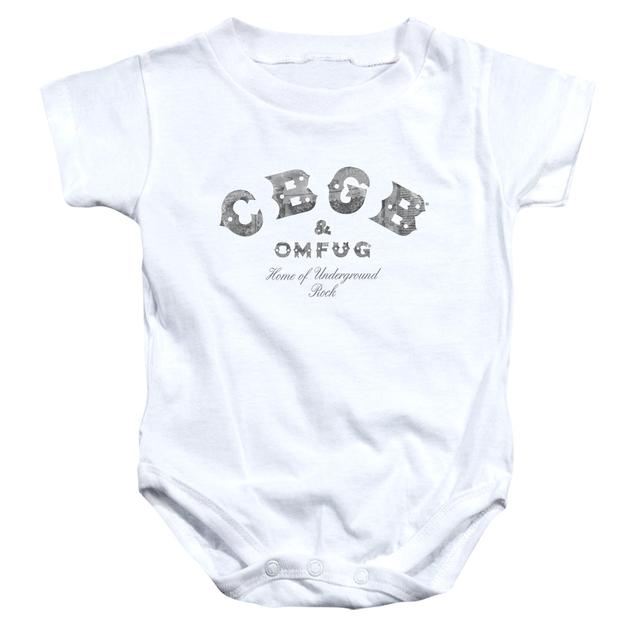 CBGB Baby Onesie | CLUB LOGO Infant Snapsuit