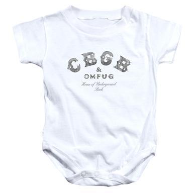CBGB Baby Onesie | CLUB LOGO Infant Snapsuit