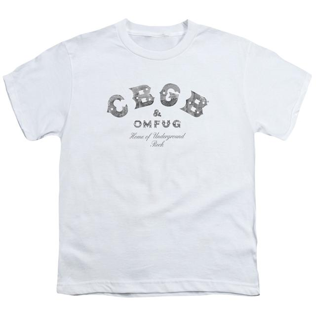CBGB Youth Tee | CLUB LOGO Youth T Shirt
