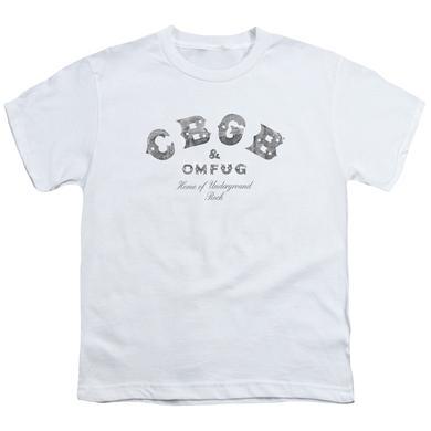 CBGB Youth Tee   CLUB LOGO Youth T Shirt