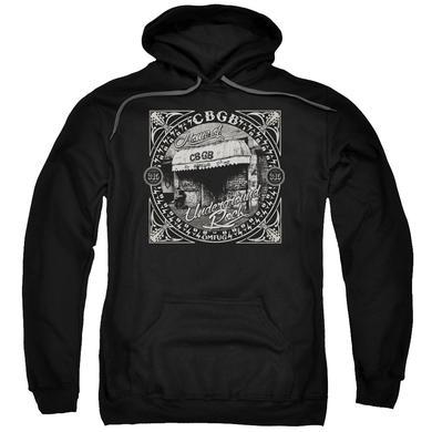 CBGB Hoodie | FRONT DOOR Pull-Over Sweatshirt