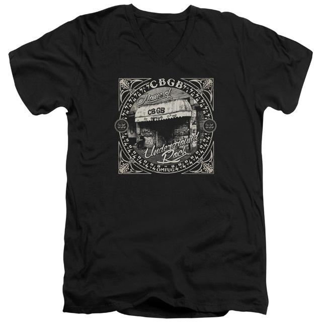 CBGB T Shirt (Slim Fit) | FRONT DOOR Slim-fit Tee