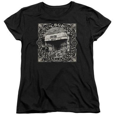 CBGB Women's Shirt | FRONT DOOR Ladies Tee