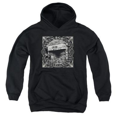 CBGB Youth Hoodie | FRONT DOOR Pull-Over Sweatshirt