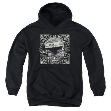 CBGB Youth Hoodie | FRONT DOOR Pull-Over Sweatshirt