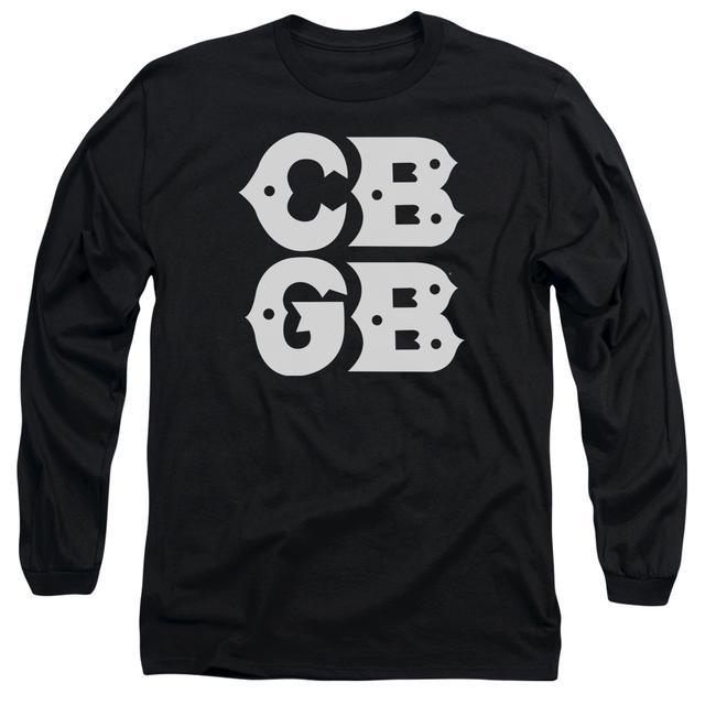 CBGB T Shirt | STACKED LOGO Premium Tee