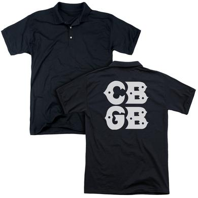CBGB STACKED LOGO (BACK PRINT)