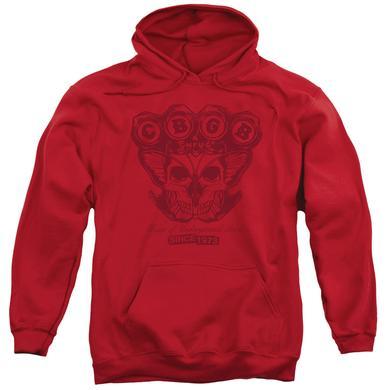 CBGB Hoodie | MOTH SKULL Pull-Over Sweatshirt