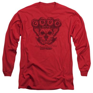 CBGB T Shirt | MOTH SKULL Premium Tee