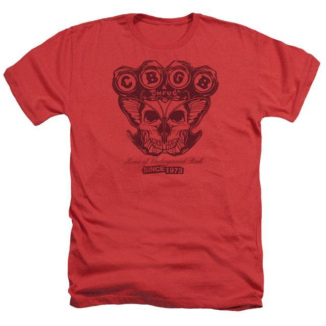 CBGB Tee | MOTH SKULL Premium T Shirt