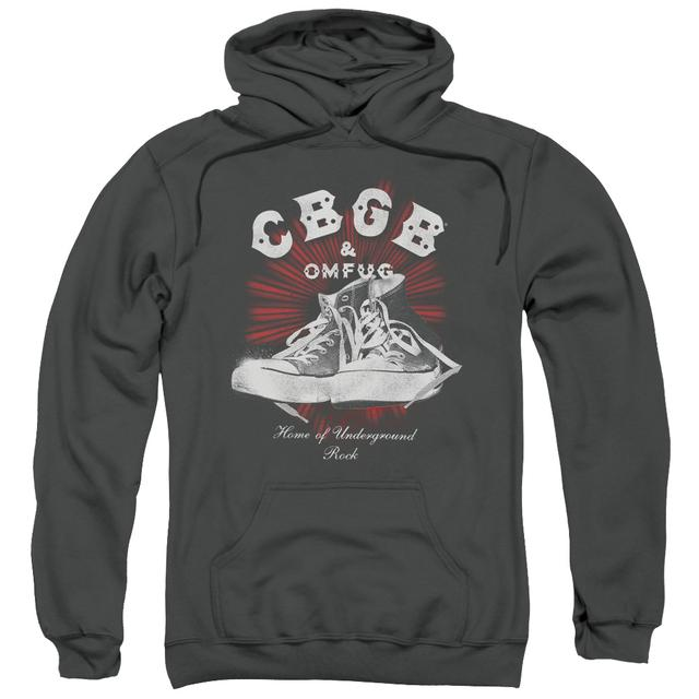 CBGB Hoodie | HIGH TOPS Pull-Over Sweatshirt